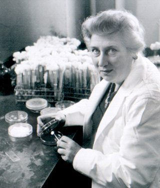 Portrait of Balbina Johnson, a bacteriologist at the Columbia University College of Physicians and Surgeons