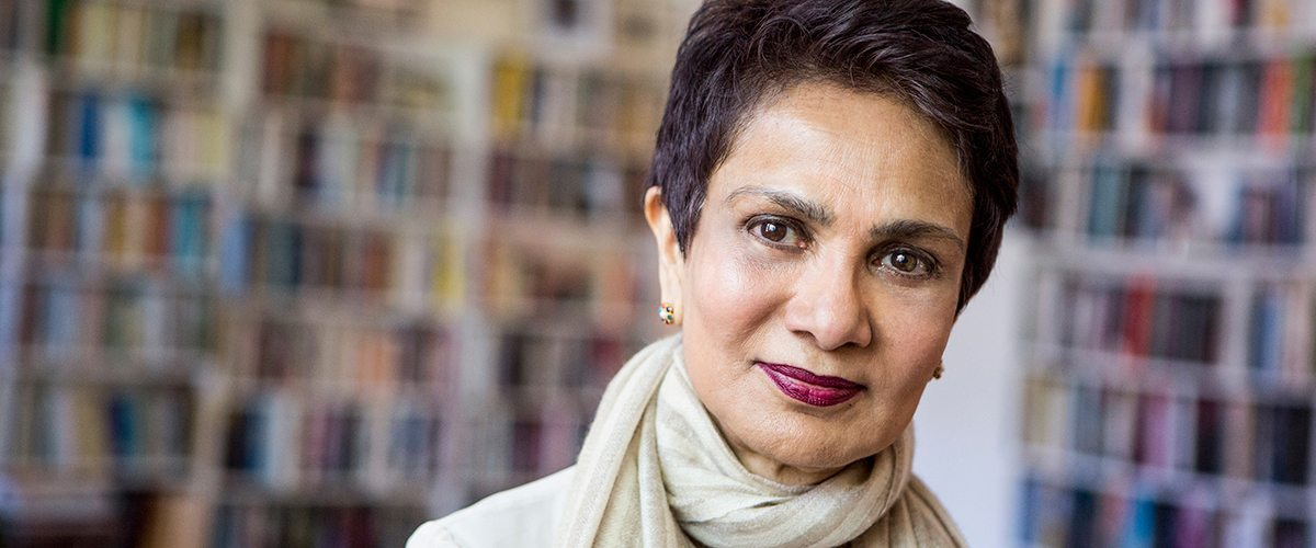 A portrait of cancer researcher Dr. Azra Raza