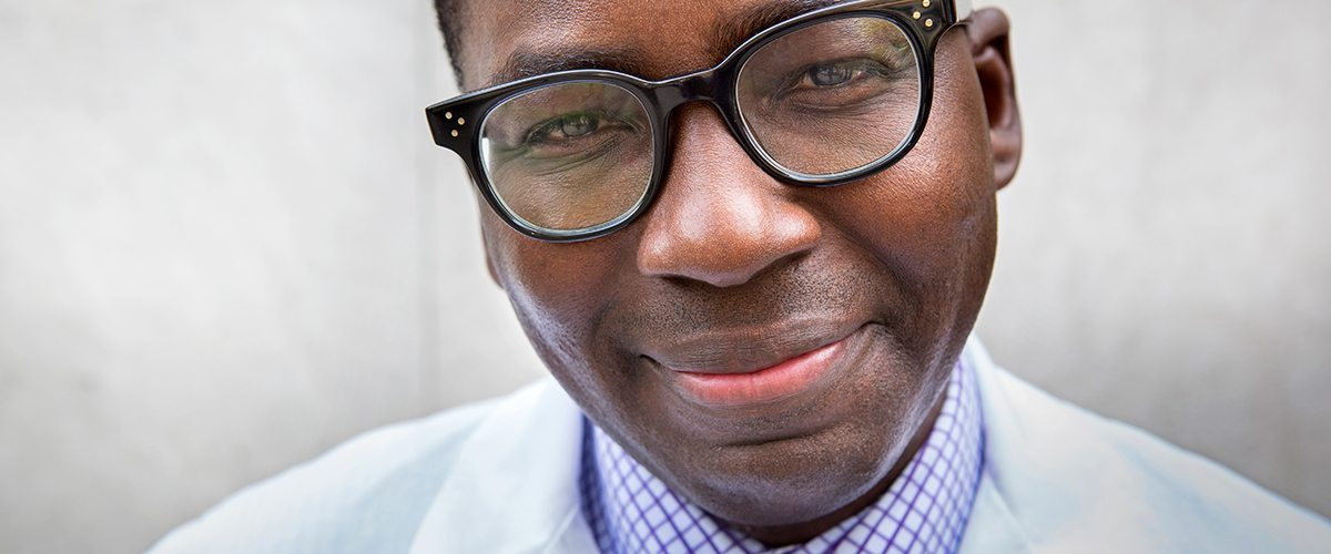 A portrait of neurologist Dr. Olajide Williams