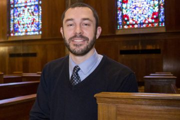 Portrait of Chaplain Joel Berning