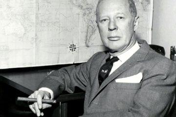 Portrait of Dr. Benjamin H. Kean