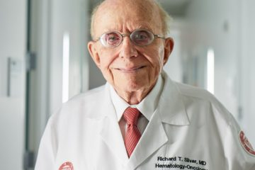 Portrait of Dr. Richard Silver