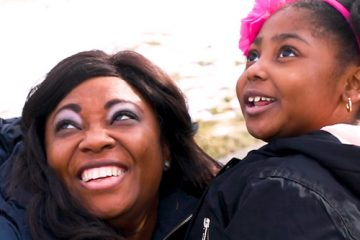 Portrait of Amazing Patient Jenna Skeete and her mother
