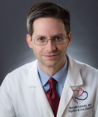 Portrait of Dr. Benjamin Lebwohl