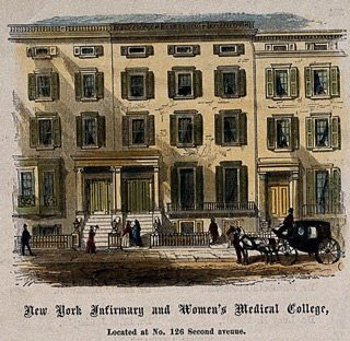 Sketch of New York Infirmary and Women's Medical College
