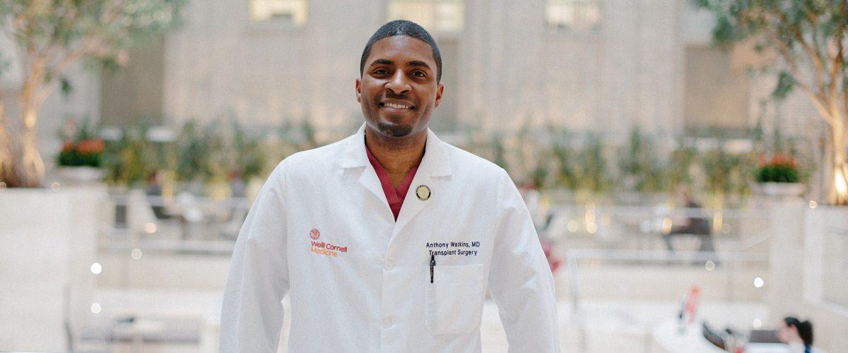 Portrait of Dr. Anthony Watkins