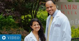 Two Award-Winning ED Residents