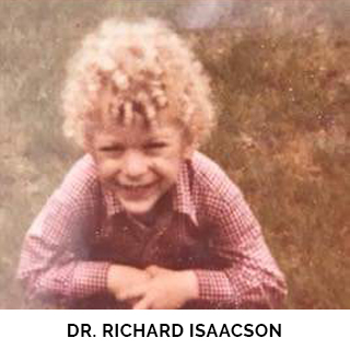 Dr. Richard Isaacson as a child