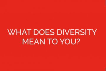 "Text asking ""What does diversity mean to you"""