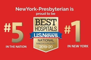NYPH Ranked #5 in the Nation and #1 in New York