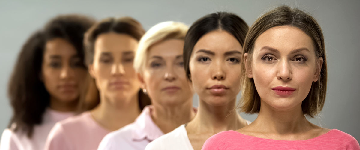 Diverse group of women showing how gynecologic cancer affects a variety of women