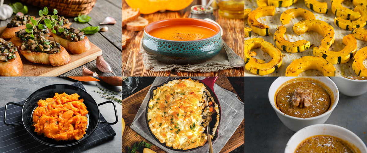 Photos of healthy Thanksgiving recipes