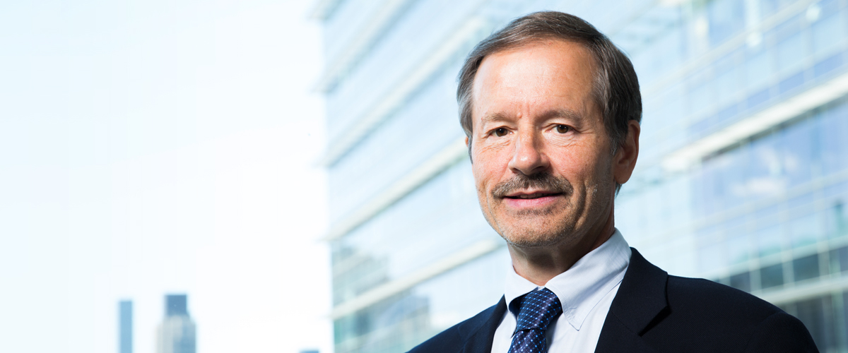 Lewis Cantley, world-renowned leader in cancer research.