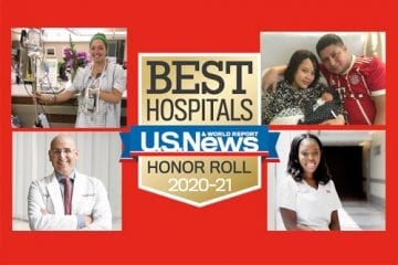 U.S. News Best Hospitals Honor Roll 2020-21 Announcement