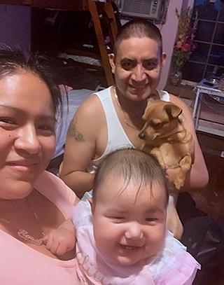 Agustin Tlathuetl and his family