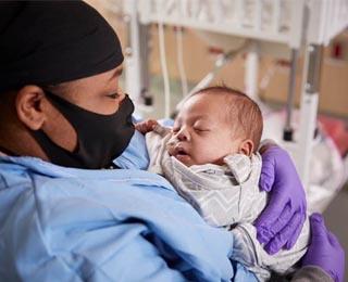 Quinaya Coleman with baby Jamie