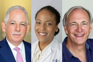 Dr. Steven J. Corwin, Dr. Julia Iyasere, and Mr. Ray Dalio discuss NewYork-Presbyterian's Dalio Center for Health Justice