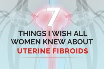 Graphic for uterine fibroids