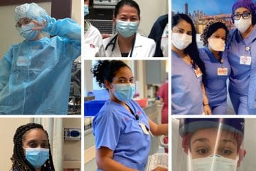 Collage of nurses